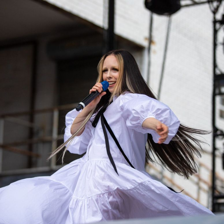 Allie X during day 2 of the ATG Fall Classic by Doug van Sant