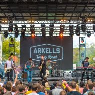 Arkells performs during day 1 of the 2019 All Things Go Fall Classic by Doug Van Sant