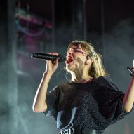 CHVRCHES closes out day 2 of the All Things Go Fall Classic by Doug van Sant